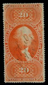 U.S. REV. FIRST ISSUE R99c  Used (ID # 81831)