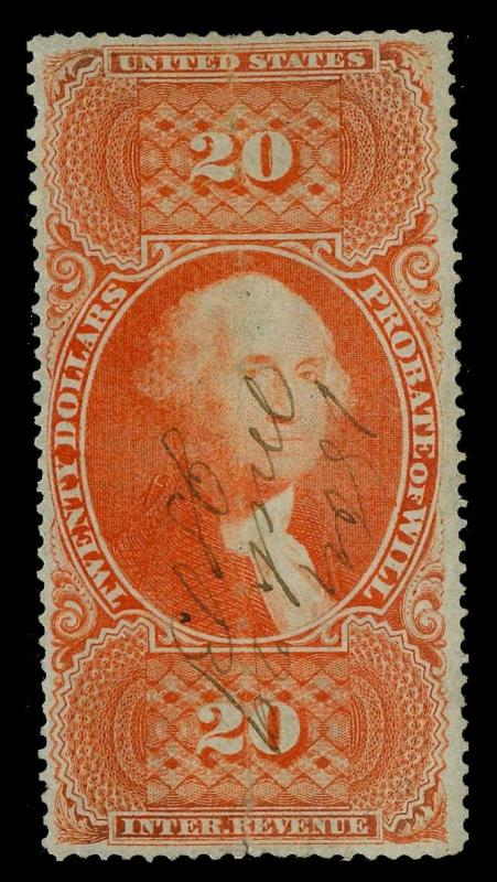 U.S. REV. FIRST ISSUE R99c  Used (ID # 81831)