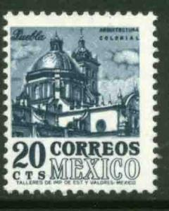 MEXICO 878a, 20c 1950 Def 8th Issue Fosforescent coated. MINT, NH. F-VF.