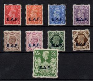 Somalia KGVI 1943 EAF mint LHM set x 9 SG51-59 WS22535