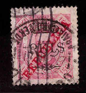 Cape Verde Scott 190 Used Surcharged stamp
