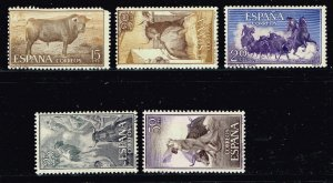 SPAIN STAMP 1960 Bull Fighting  MH/OG STAMPS LOT