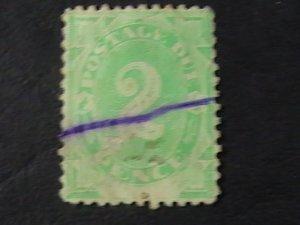 AUSTRALIA # J3-USED---POSTAGE DUE---1902