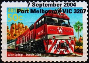 Australia. 2004 50c S.G.2433 Fine Used