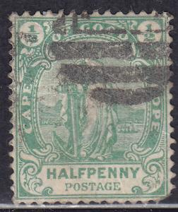 Cape of Good Hope 59 USED 1898 Hope Standing BONC
