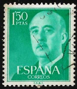Spain 1956 Scott# 827 Used