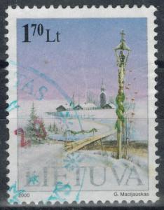 Lithuania - Scott 681