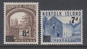 Norfolk Island 21-22 MNH VF