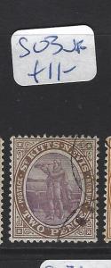 ST KITTS NEVIS  (PP2806B)  COLUMBUS  2D  SG 3   VFU