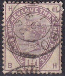 Great Britain #99 F-VF Used CV $42.50 (Z1455)