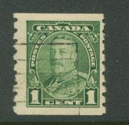 Canada SG 289 FU imperf top and bottom