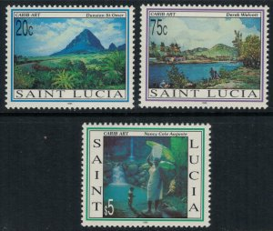 St. Lucia #1002-4*  CV $7.85