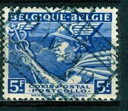 Belgium; 1945: Sc. # Q295: O/Used Single Stamp