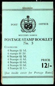 "Western Samoa  1964 SG SB 12 VF, Cat. ""from £50"""
