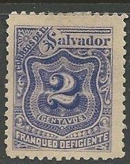 El Salvador || Scott # J34 - MH ©