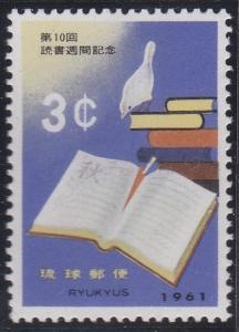 Ryukyu Islands 91 MNH (1961)