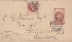 1887, England to New Brunswick, Canada, Wrapper (21567)