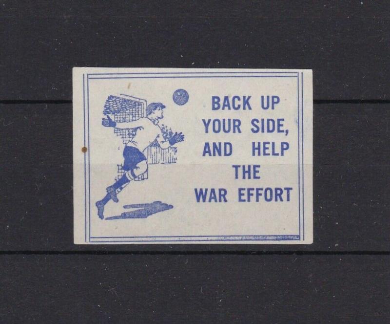 ASR EFFORT STAMP UNMOUNTED MINT , BACK UP YOUR SIDE AND HELP THE WAR EFFORT