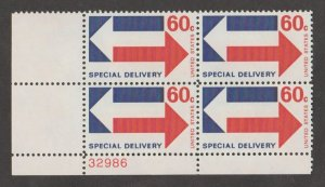 U.S. Scott #E23 Special Delivery Stamp - Mint NH Plate Block