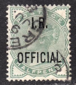 Great Britain Scott O2  F to VF used.