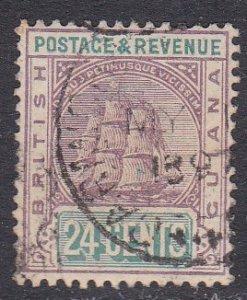 British Guiana Sc #142 Used; Mi #90