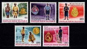 Papua New Guinea 1978 History of Royal Papua New Guinea Constabulary, Set [Mint]