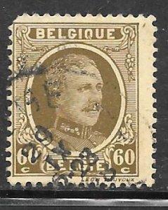 Belgium 158: 60c Albert I, used, VF
