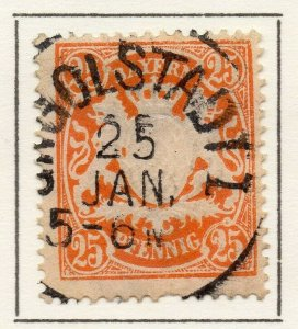 Bayern Bavaria 1890 Early Issue Fine Used 25pf. NW-120737