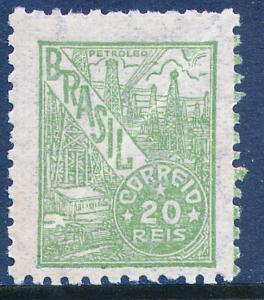 Brazil 554, 20r Oil production. Mint, Never Hinged. (458)