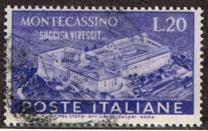 Italy # 579 Used