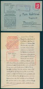 3rd Reich Germany 1943 Concentration Camp KL Hamburg Neuengamme Cover and  91696
