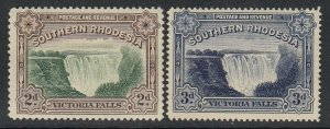 Southern Rhodesia, Sc 31-32 (SG 29-30), MHR