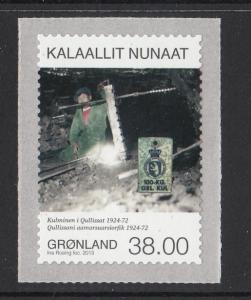Greenland MNH 2013 38k Greenlandic Mining IV