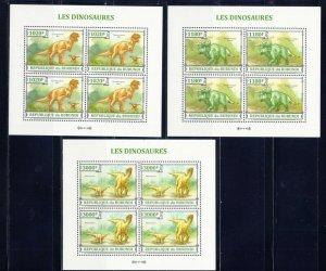 BURUNDI - 2013 Dinosaurs   M2500