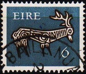 Ireland. 1971 6p S.G.296 Fine Used