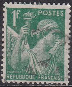 France Sc# 377 Hinged Used 1939