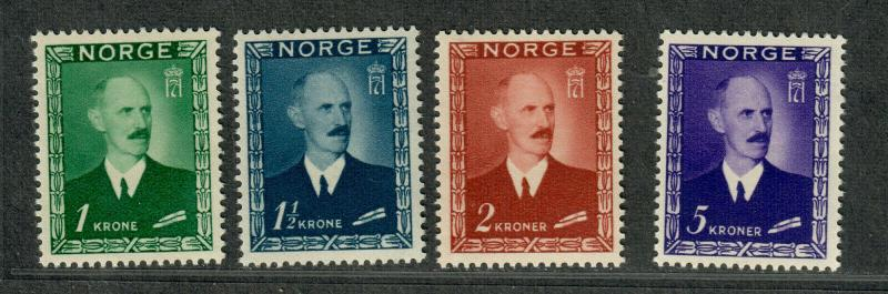 Norway Sc#275-278 M/NH/VF, Complete Set, Cv. $120