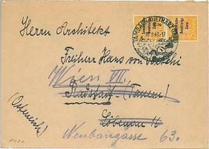 GERMANY: SOVIET ZONE Sowjetische Besatzungszone - POSTAL HISTORY cover - 1948