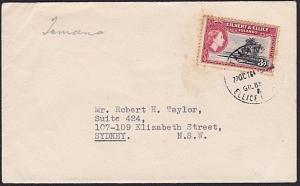 GILBERT & ELLICE IS 1964 cover to Australia - TAMANA cds....................6219