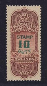 Hawaii # R16 VF-XF mint OG never hinged with nice color ! see pic !