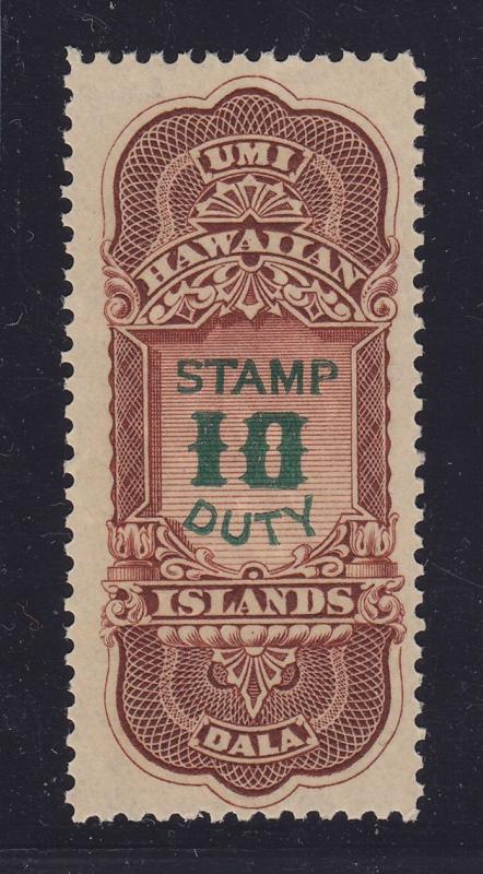 Hawaii # R16 VF-XF mint OG never hinged with nice color