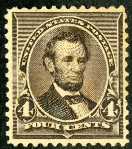 US Stamps # 222 MLH XF Fresh