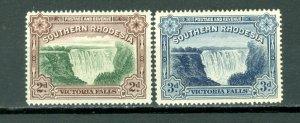 SOUTHERN RHODESIA  FALLS #37-37A..SET PERF.14 ..MNH...$17.00
