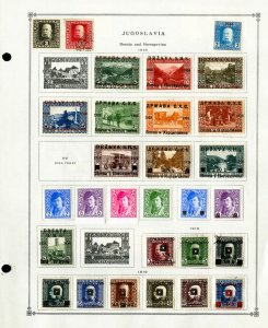 Yugoslavia Clean Loaded Mint & Used 1918 to 1998 Stamp Collection