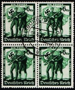 Germany. 1938 6pf(Block of 4)  S.G.650 Fine Used