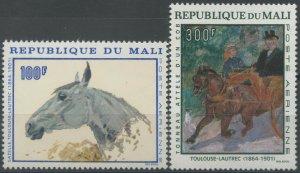 1967 Mali 158-159 Artist / Henri de Toulouse Lautrec 12,00 €