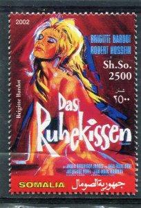Somalia 2002 BRIGITTE BARDOT Movie Poster 1v Perforated Mint (NH)