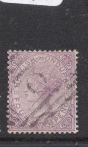 British Honduras SG 20 VFU (1dlu)