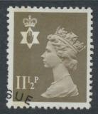 Northern Ireland SG NI34 SC# NIMH16 Used  with first day cancel 11½p Machin