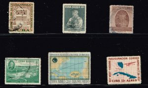 CUBA STAMP Airmail Stamps Collection Lot #S1
